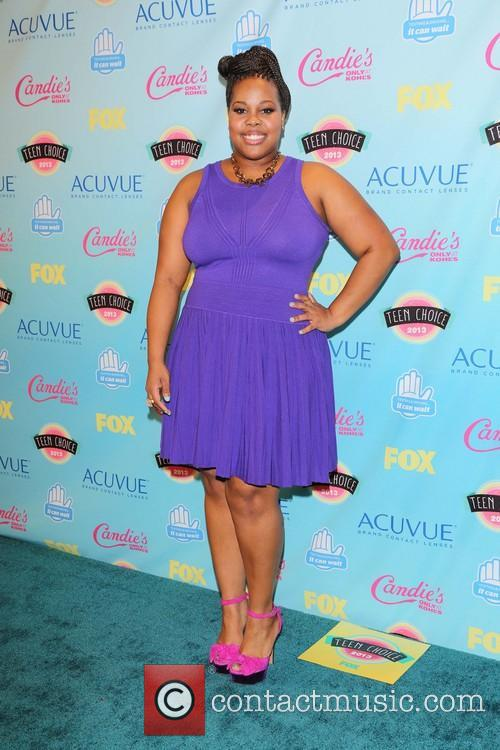 Amber Riley, the Gibson Amphitheater