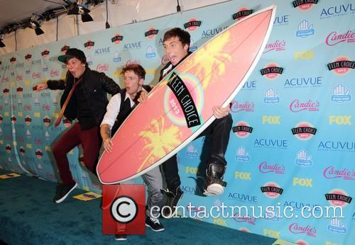 Keaton Stromberg, Drew Chadwick and And Wesley Stromberg Of Emblem3 2