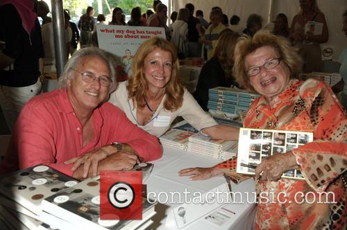Authors Eric Fischl, Barbara Jude Frerichs and Dr. Ruth Westheimer 3