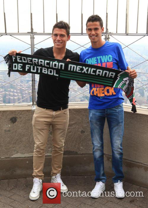 Hector Moreno, From Spanish La Liga's Rcd Espanyol, Diego Reyes and Playing For Portuguese Primerira Liga's Fc Porto 1
