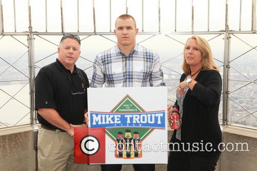 Mike Trout dedicates Mike Trout Field