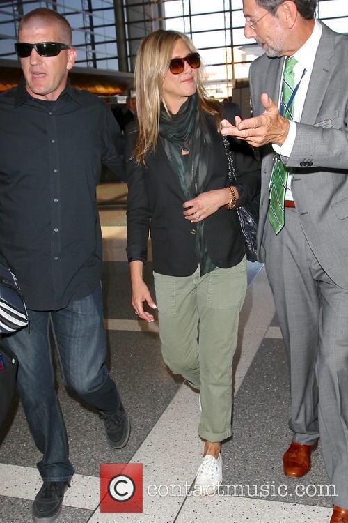 Jennifer Aniston At LAX