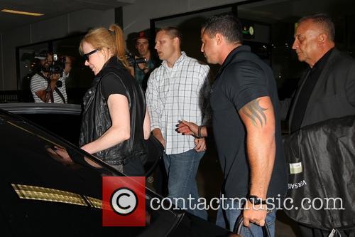 Nicole Kidman Arrive At LAX