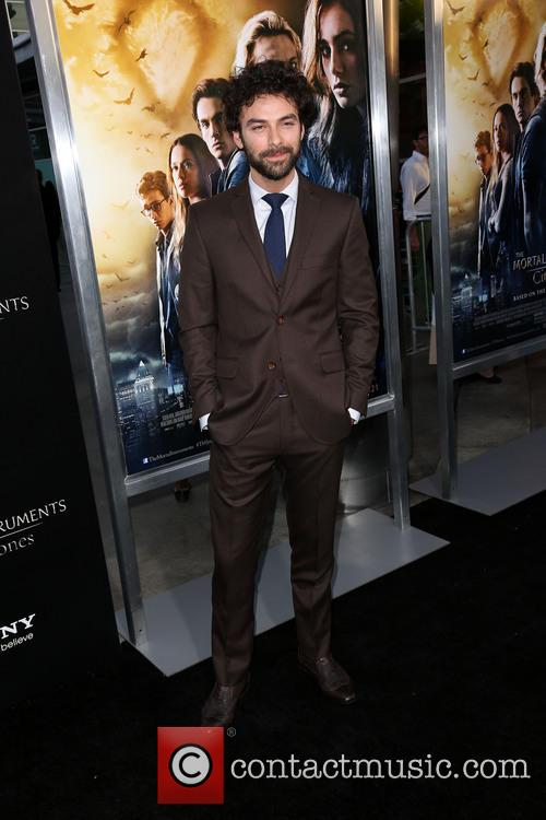 aidan turner premiere of the mortal instruments 3812391