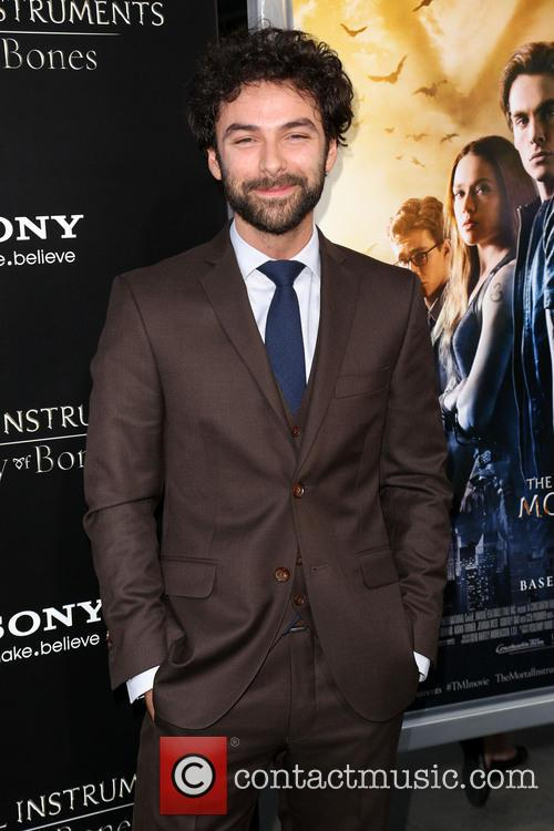 aidan turner premiere of the mortal instruments 3812392
