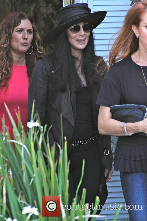 cher cher was pictured in brentwood 3809398