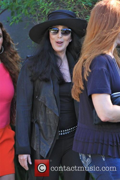 cher was pictured in brentwood