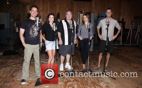 Kristoffer Cusick, Kate Loprest, Blake Hammond, Sara Chase and Bryce Ryness 2