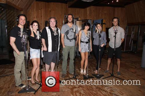 Kristoffer Cusick, Kate Loprest, Blake Hammond, Zachary Levi, Krysta Rodriguez, Sara Chase and Bryce Ryness 3