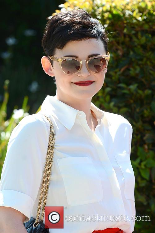 Ginnifer Goodwin Goes to a Private Party in...