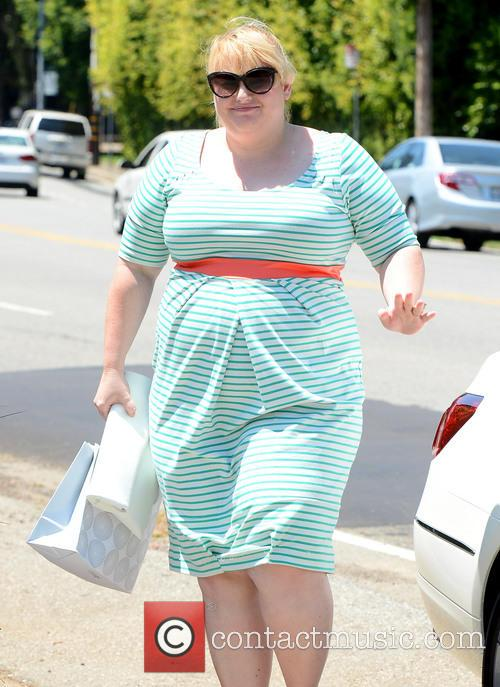 Rebel Wilson Goes to a Private Party in...