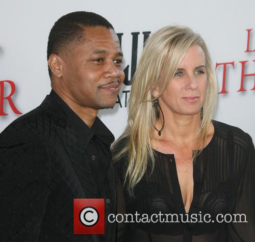 Cuba Gooding Jr. and Wife Sara Kapfer 2