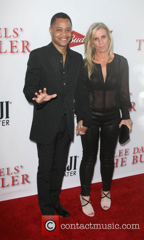Cuba Gooding Jr. and Wife Sara Kapfer 3