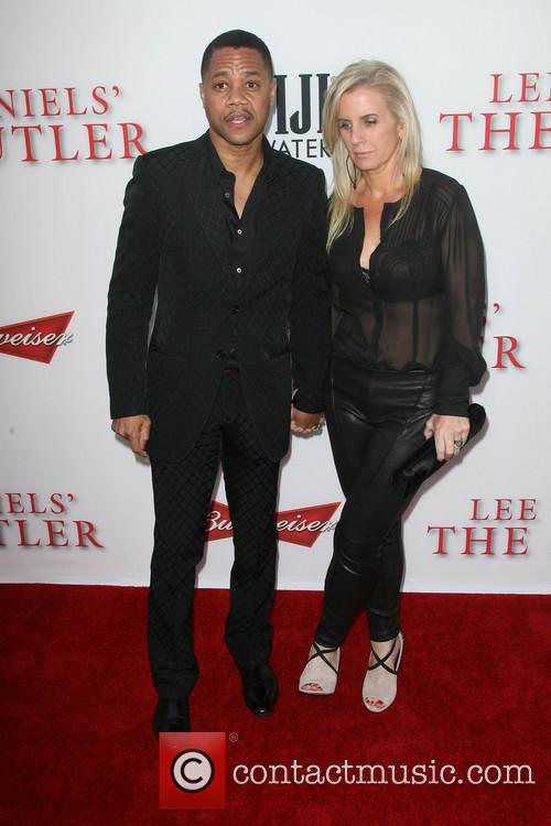 Cuba Gooding Jr. and Wife Sara Kapfer 4