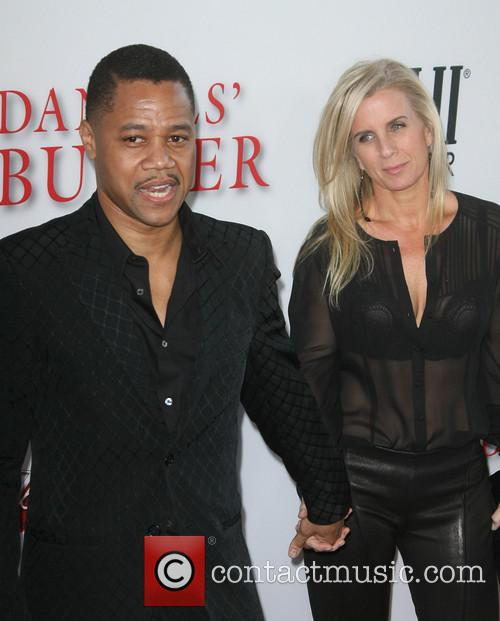 Cuba Gooding Jr. and Wife Sara Kapfer 1