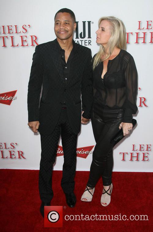 Cuba Gooding Jr. and Wife Sara Kapfer 9