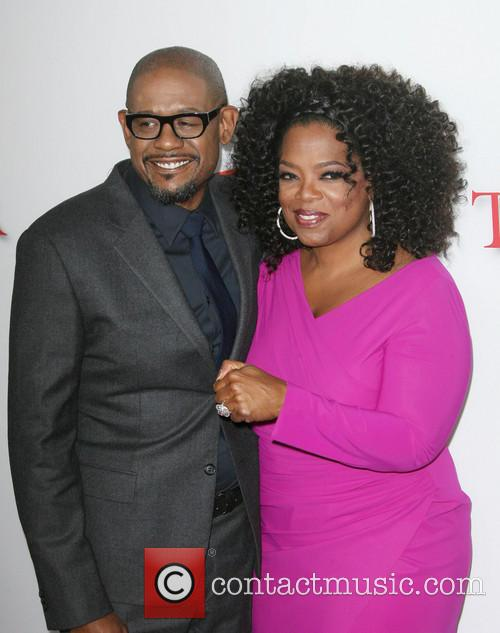 Forest Whitaker and Oprah Winfrey 9