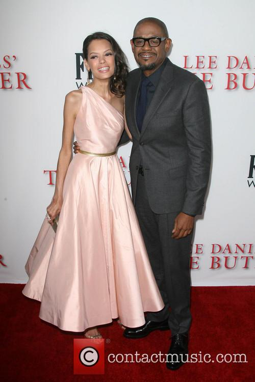 Forest Whitaker and wife Keisha Whitaker 2