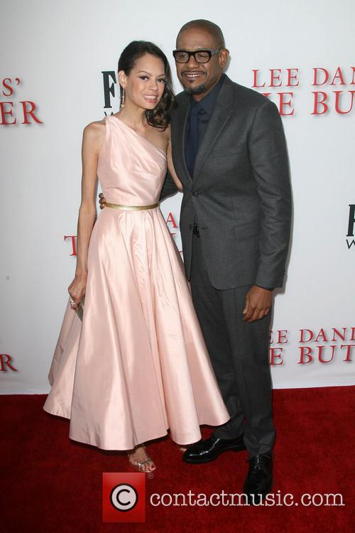 Forest Whitaker and wife Keisha Whitaker 3