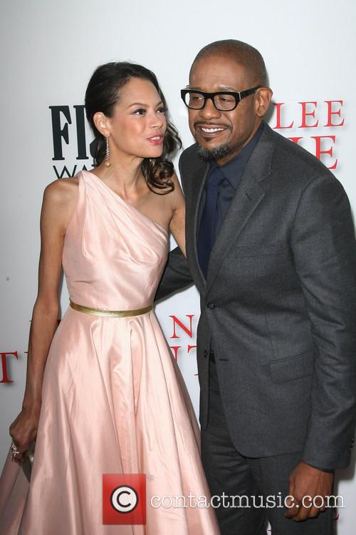 Forest Whitaker and wife Keisha Whitaker 1