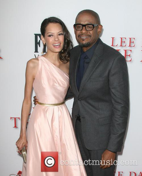 Forest Whitaker and wife Keisha Whitaker 4