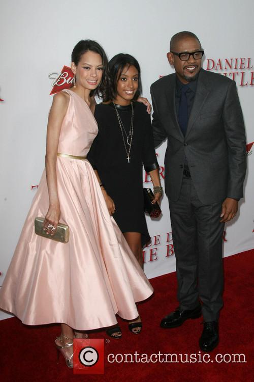 forest whitaker wife keisha whitaker their daughter autumn 3811433