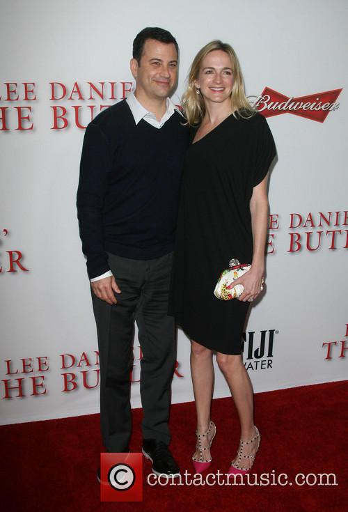 Jimmy Kimmel and Wife Molly Mcnearney 2
