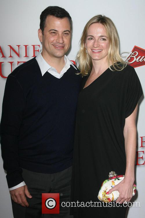 Jimmy Kimmel and Wife Molly Mcnearney 3