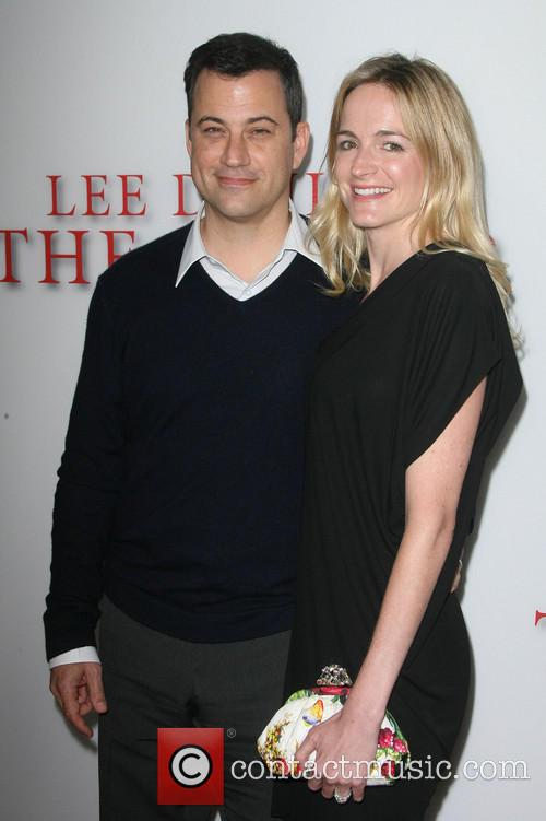 Jimmy Kimmel and Wife Molly Mcnearney 4