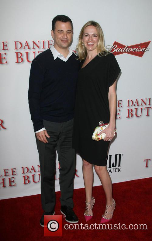 Jimmy Kimmel and Wife Molly Mcnearney 1