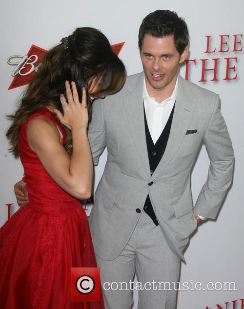 Minka Kelly and James Marsden 1