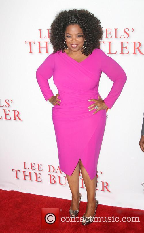 Oprah Winfrey The Butler Premiere