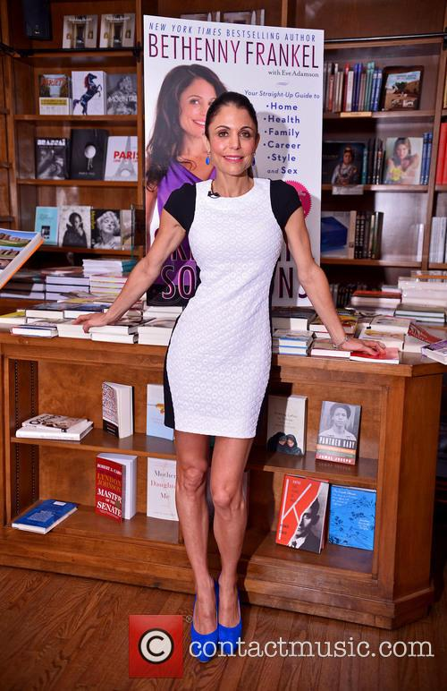 Bethenny Frankel at her book signing for Skinnygirl...
