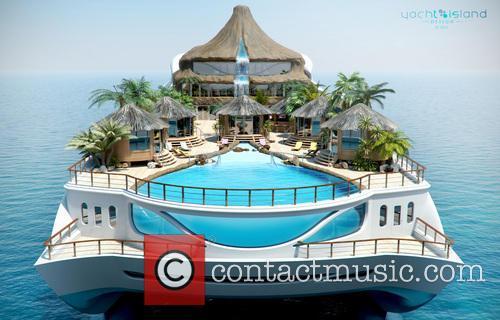 Monaco on a Yacht