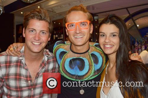 Stevie Johnson, Oliver Proudlock and Grace Mcgovern 2