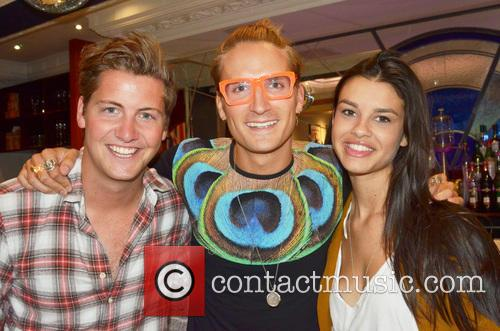 Stevie Johnson, Oliver Proudlock and Grace Mcgovern 3