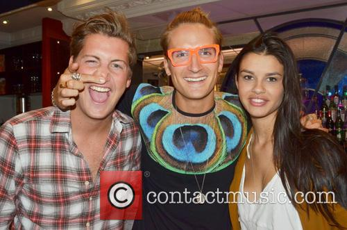 Stevie Johnson, Oliver Proudlock and Grace Mcgovern 1