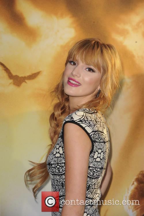bella thorne la premiere of the mortal 3812383