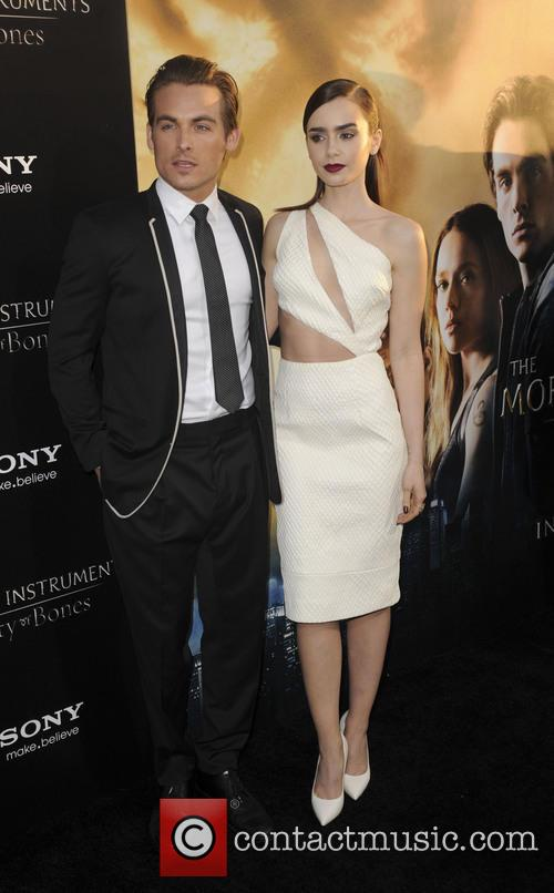 Kevin Zegers and Lily Collins 2