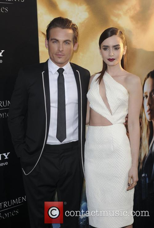 Kevin Zerger and Lily Collins