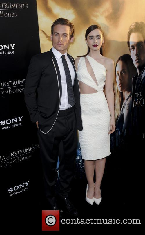 Kevin Zegers and Lily Collins 3