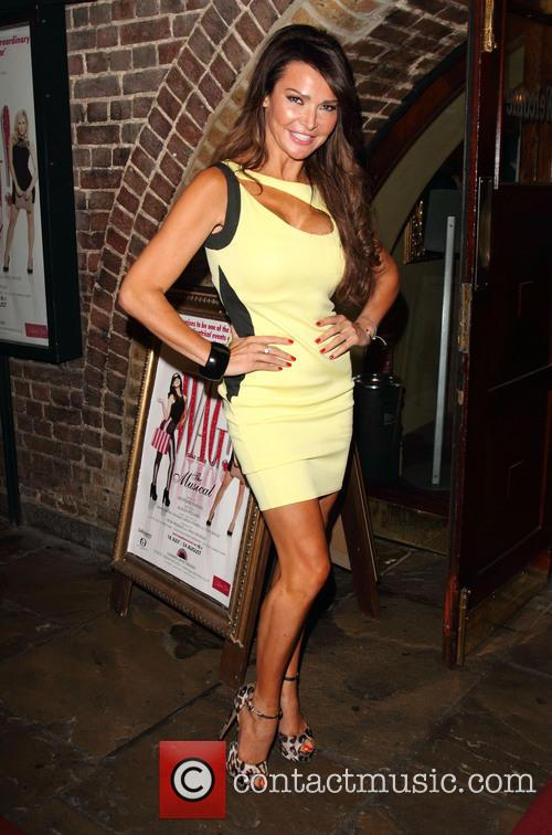 lizzie cundy celebrities attend wag the musical 3813354
