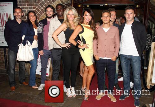 Pippa Fulton, Lizzie Cundy and Brentford Fc Players 2