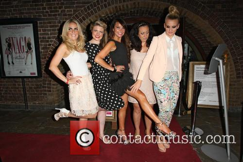 Pippa Fulton, Guest, Lizzie Cundy, Alyssa Kyria and Angela Russell 3