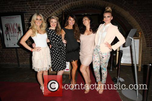 Pippa Fulton, Guest, Lizzie Cundy, Alyssa Kyria and Angela Russell 4