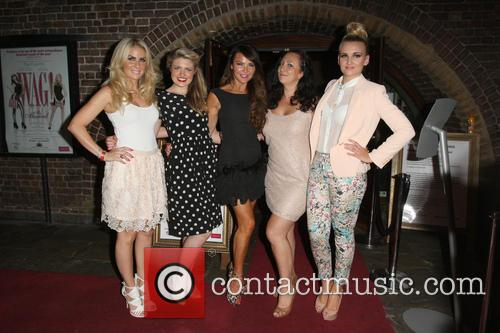 Pippa Fulton, Guest, Lizzie Cundy, Alyssa Kyria and Angela Russell 1