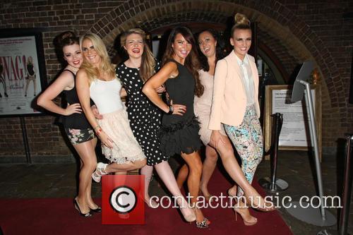 Rachel Rawlinson, Pippa Fulton, Guest, Lizzie Cundy, Alyssa Kyria and Angela Russell 1