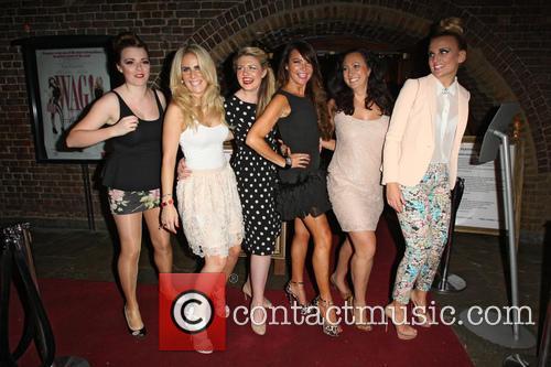 Rachel Rawlinson, Pippa Fulton, guest, Lizzie Cundy, Alyssa Kyria and Angela Russell 2