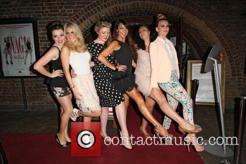 Rachel Rawlinson, Pippa Fulton, Guest, Lizzie Cundy, Alyssa Kyria and Angela Russell 3