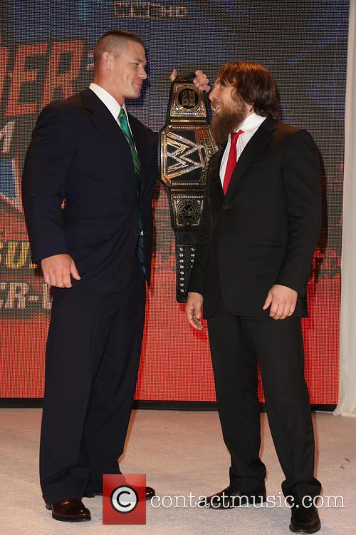 john cena daniel bryan wwe summerslam 2013 press 3813394